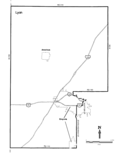Map of Kansas House District 60 from Kansas Legislative Research Department