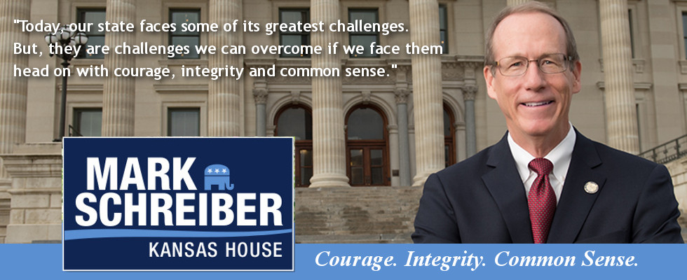 Representative Mark Schreiber | Kansas House District 60